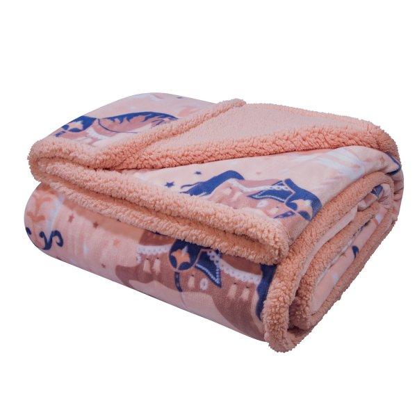 Κουβέρτα Fleece Λίκνου 2923 Greenwich Polo Club