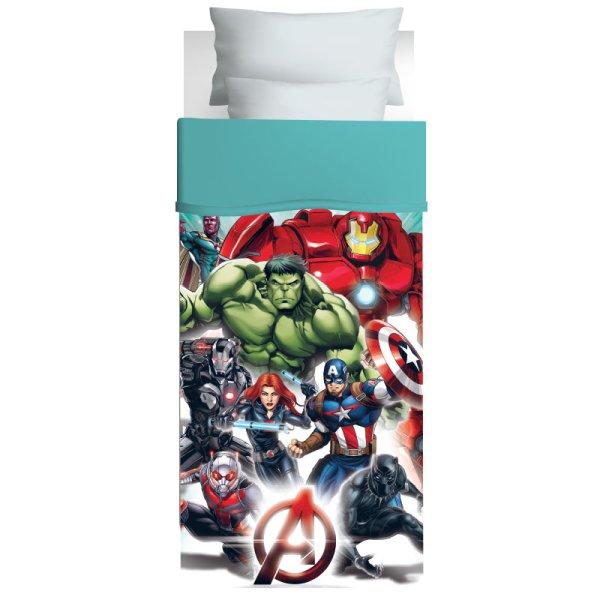 Πάπλωμα Μονό Avengers 5024 Das Kids