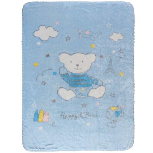 Κουβέρτα Βελουτέ Κούνιας Relax 6564 Das Kids