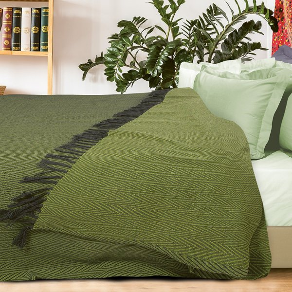 Κουβέρτα Πικέ Υπέρδιπλη Με Κρόσια 343 Das Home