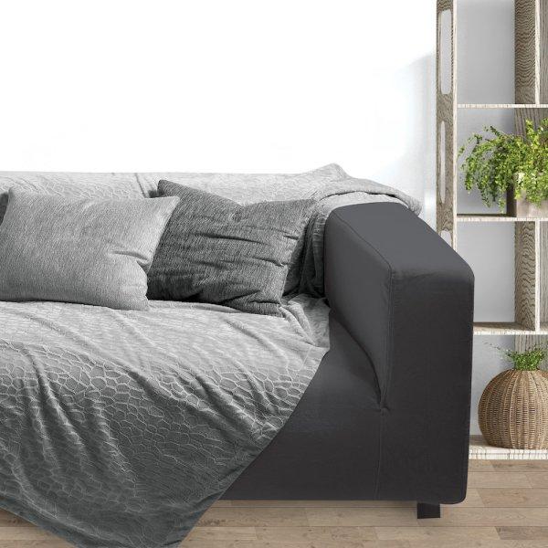 Κουβέρτα Fleece Καναπέ Embossed 045 Das Home