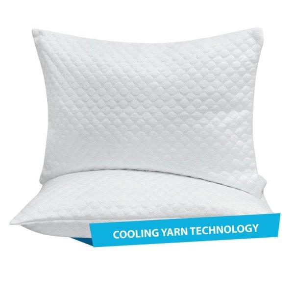 Ζεύγος Καλύμματα Μαξιλαριών Cooling 1099 Das Home