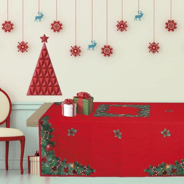Χριστουγεννιάτικο Τραπεζομάντηλο (140x180) 535 Das Home