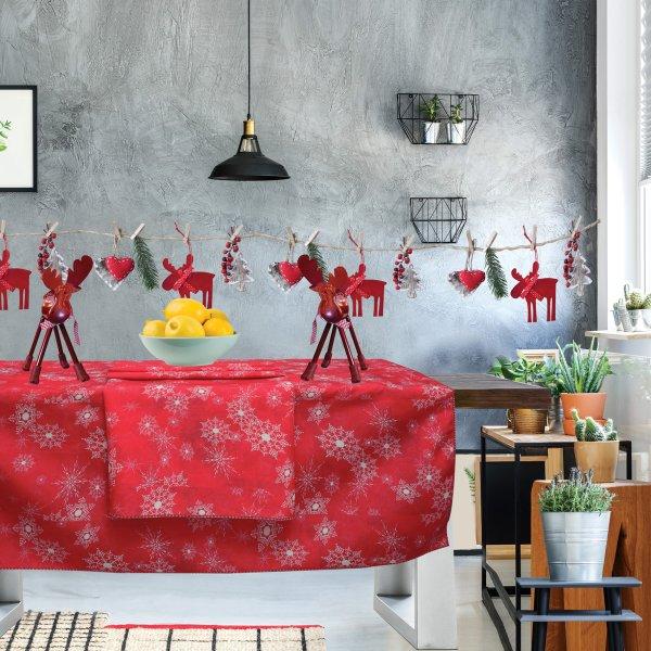 Χριστουγεννιάτικο Τραπεζομάντηλο (140x180) 0553 Das Home