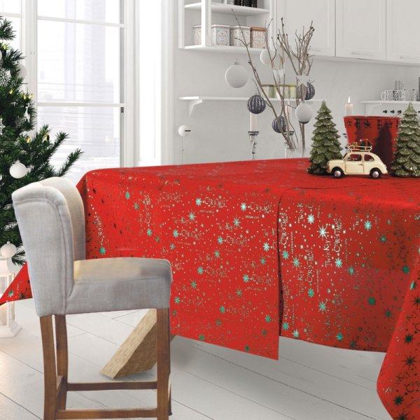 Χριστουγεννιάτικο Τραπεζομάντηλο (140x180) 0574 Das Home