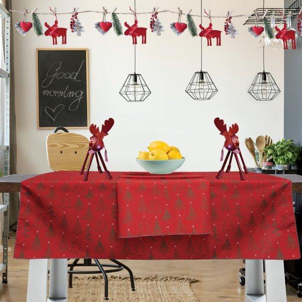 Χριστουγεννιάτικο Τραπεζομάντηλο (140x180) 0550 Das Home