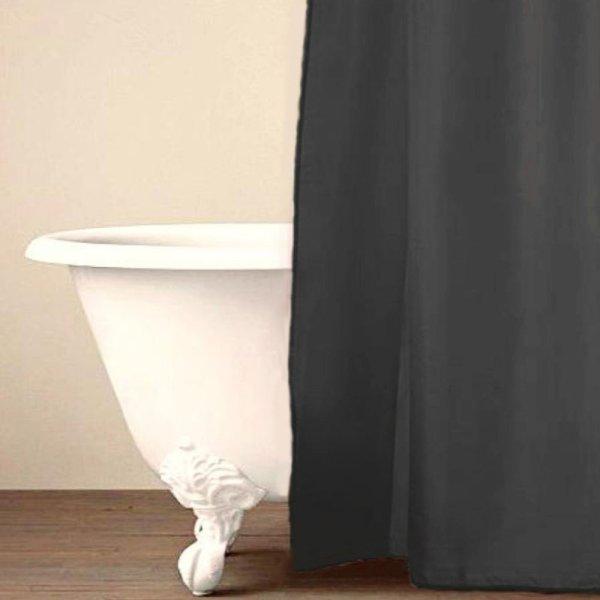 Κουρτίνα Μπάνιου (180x200) Simple Gray Palamaiki