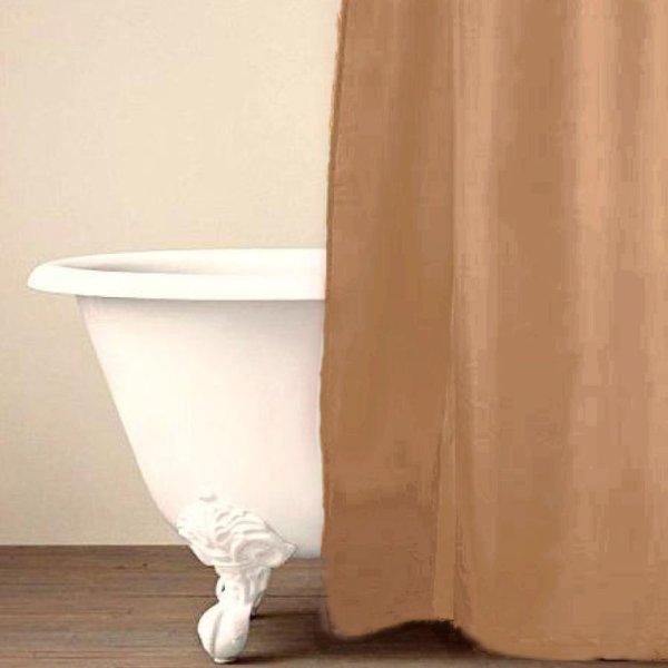 Κουρτίνα Μπάνιου (180x200) Simple Sand Palamaiki