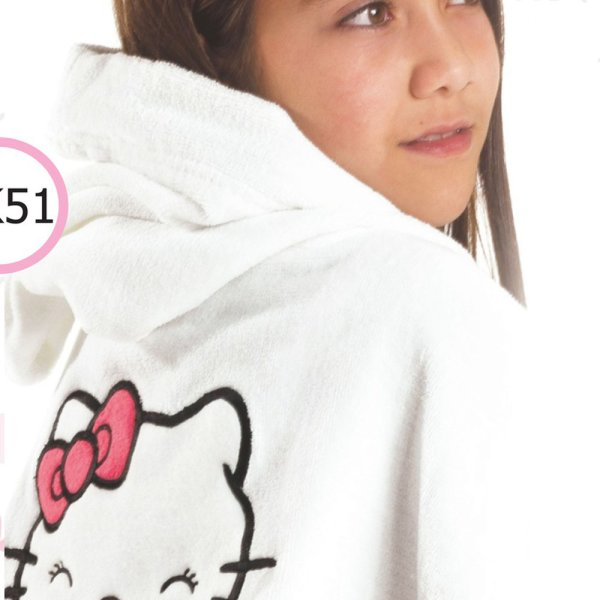 Παιδικό Μπουρνούζι (12 Ετών) Hello Kitty - 51 Nima Kids