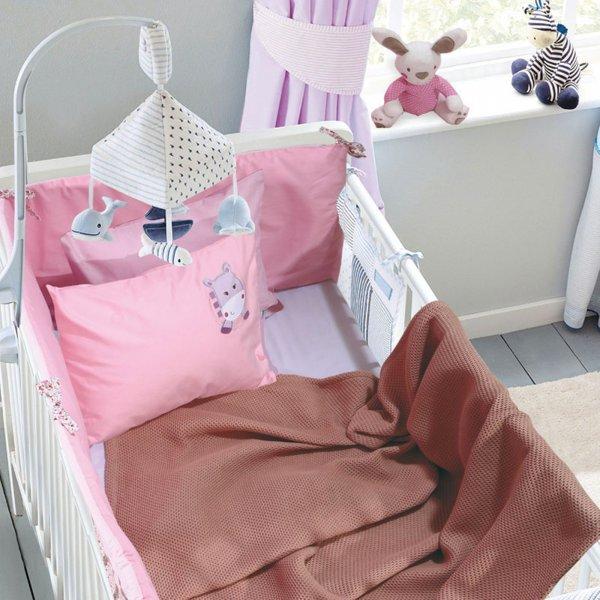 Κουβέρτα Πικέ Κούνιας Relax 6544 Das Kids
