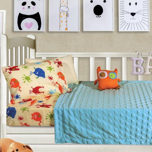 Κουβέρτα Fleece Κούνιας Relax 6363 Das Kids