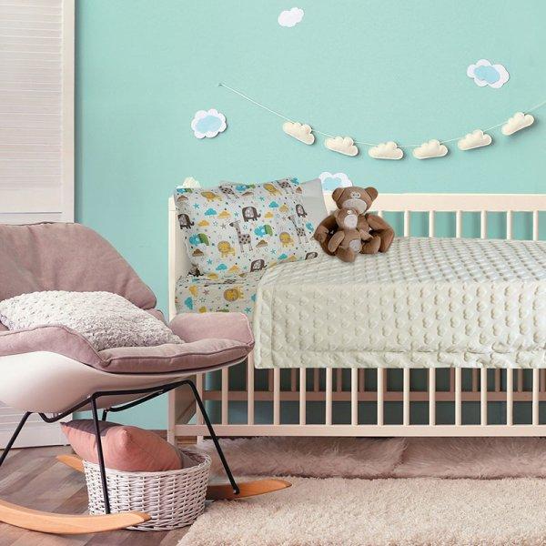 Κουβέρτα Fleece Κούνιας Relax 6365 Das Kids