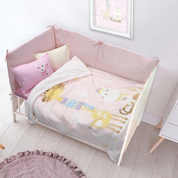 Κουβέρτα Fleece Κούνιας Relax 6556 Das Kids