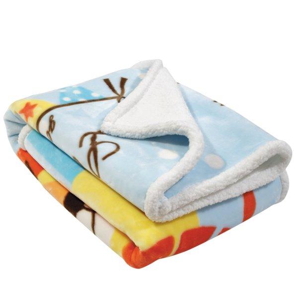 Κουβέρτα Fleece Κούνιας Relax 6557 Das Kids