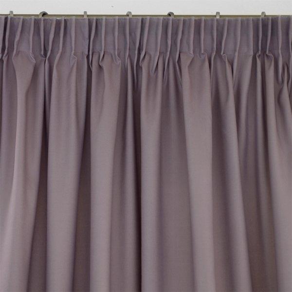 Κουρτίνα (140x235) Με Τρέσα Micro Dark Purple Lino Home