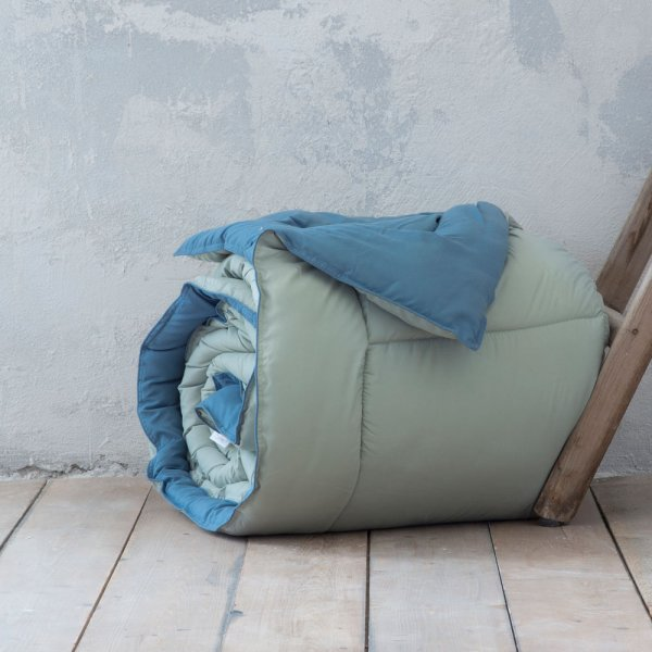 Πάπλωμα Γίγας Abalone Mint/Blue Nima Home