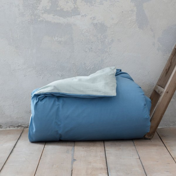 Παπλωματοθήκη Γίγας Colors Smoke Mint/Shadow Blue Nima Home