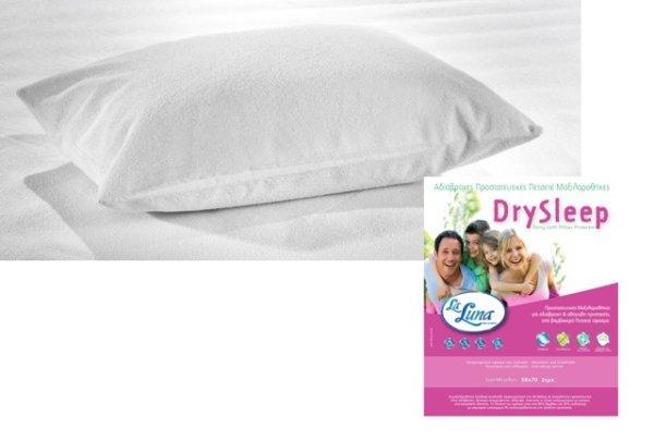 Ζεύγος Καλύμματα Μαξιλαριών Αδιάβροχα Dry Sleep La Luna