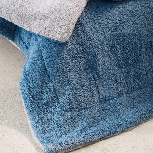 Κουβερτοπάπλωμα Γίγας Melt Mint/Blue Nima Home