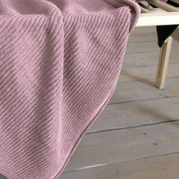 Κουβέρτα Μάλλινη Κούνιας Pile Pink Nima Kids