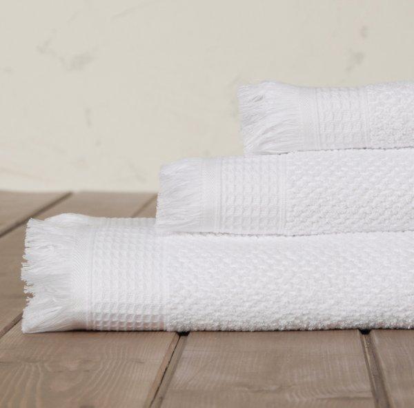 Πετσέτα Σώματος Dorinda White Nima Home
