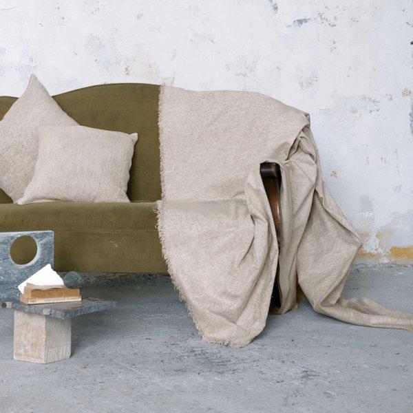 Ριχτάρι Πολυθρόνας (180x180) Comfrey Ivory Nima Home