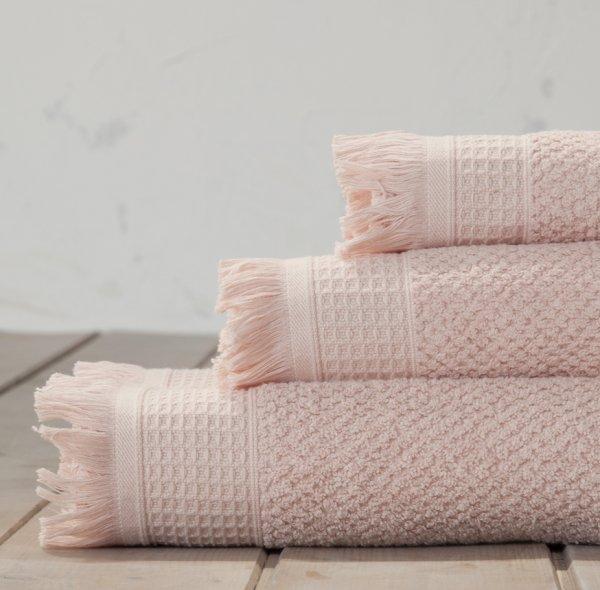 Πετσέτα Προσώπου Dorinda Powder Pink Nima Home