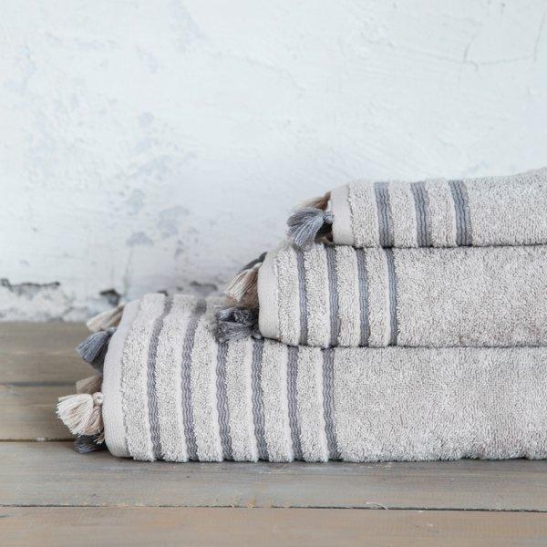 Πετσέτα Σώματος Demure Beige Nima Home