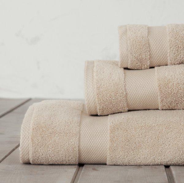 Σετ Πετσέτες Μπάνιου (3τμχ) Medea Beige Nima Home