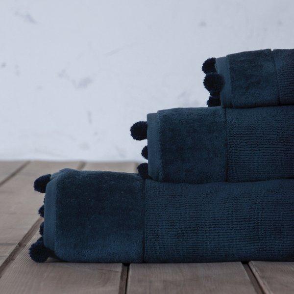Πετσέτα Σώματος Plush Blue Nima Home
