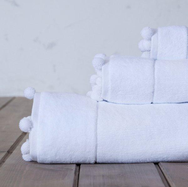 Πετσέτα Σώματος Plush White Nima Home