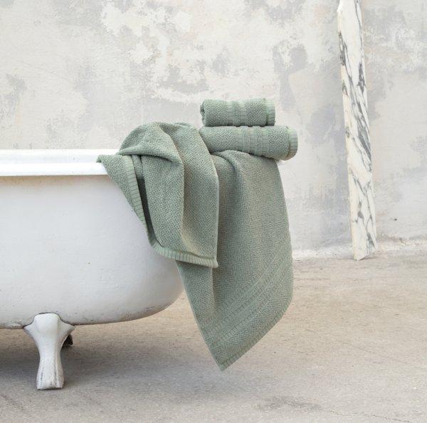 Σετ Πετσέτες Μπάνιου (3τμχ) Canali Mint Nima Home