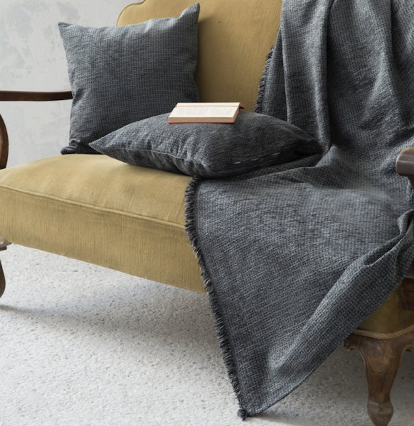 Ριχτάρι Τριθέσιου (180x300) Blend Gray Nima Home
