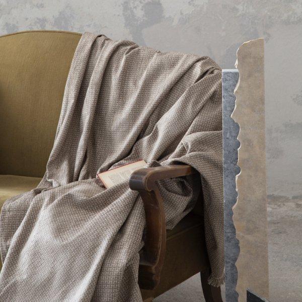 Ριχτάρι Τριθέσιου (180x300) Blend Taupe Nima Home