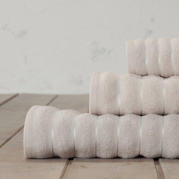 Σετ Πετσέτες Μπάνιου (3τμχ) Tousle Powder Pink Nima Home