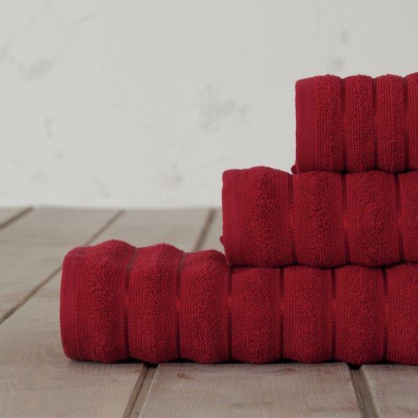 Πετσέτα Σώματος Tousle Red Nima Home