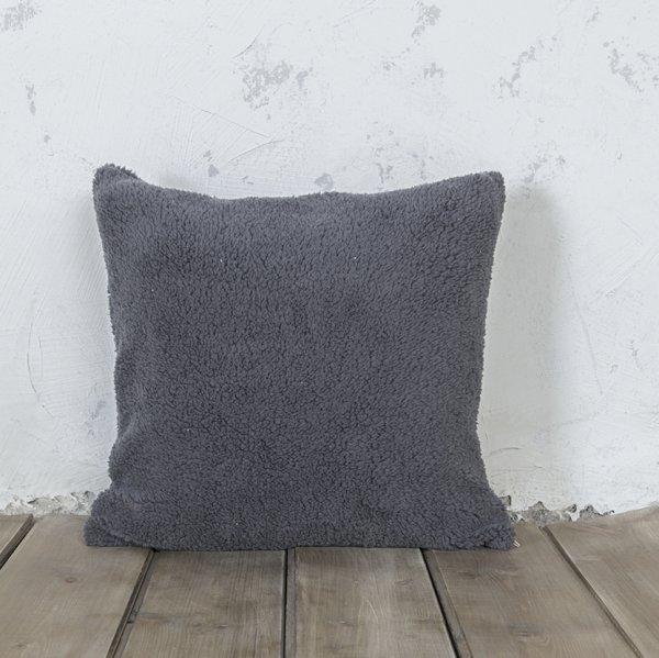 Διακοσμητικό Μαξιλάρι Wooly Gray Nima Home