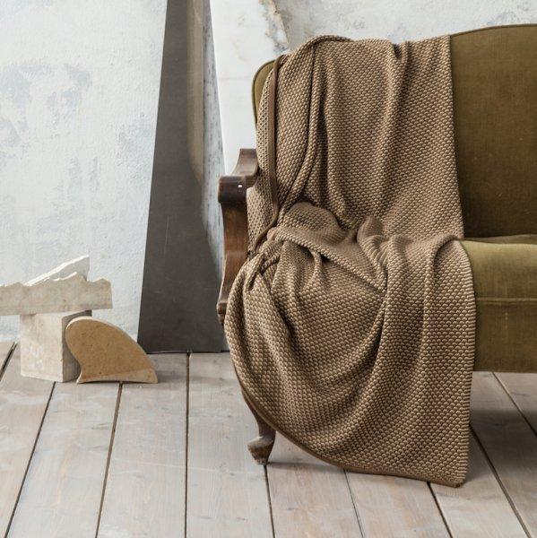 Κουβέρτα - Ριχτάρι Καναπέ Twine Beige Nima Home
