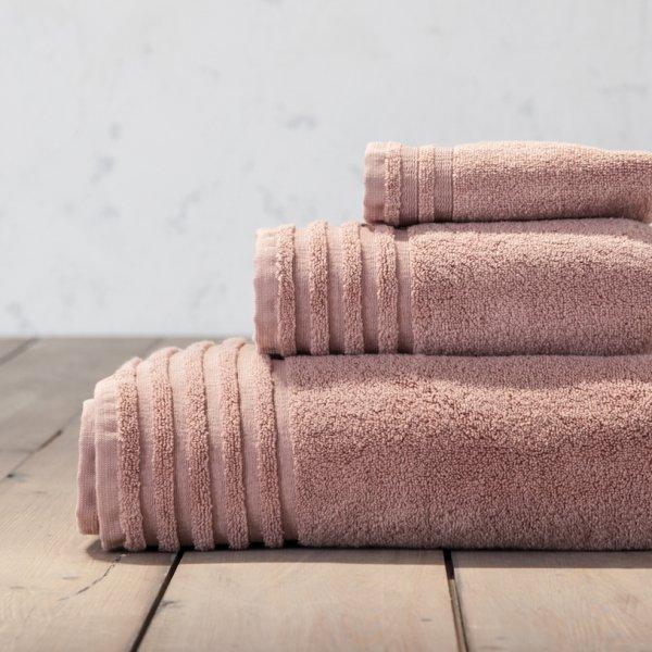 Πετσέτα Προσώπου Vista Powder Pink Nima Home