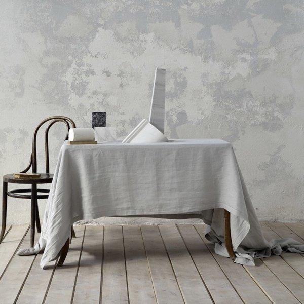 Τραπεζομάντηλο (150x150) Linho Light Gray Nima Home