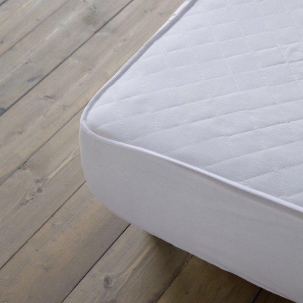 Κάλυμμα Στρώματος Καπιτονέ Υπέρδιπλο (160x200) Abbraccio Με Φούστα Ύφασμα Nima Home