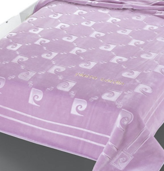 Κουβέρτα Βελουτέ Υπέρδιπλη Nancy 654/21 Pierre Cardin