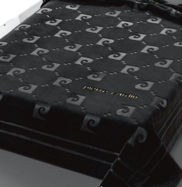 Κουβέρτα Βελουτέ Υπέρδιπλη Nancy 654/50 Pierre Cardin