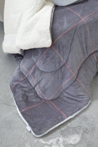 Κουβερτοπάπλωμα Μονό Tailor Gray Nima Home