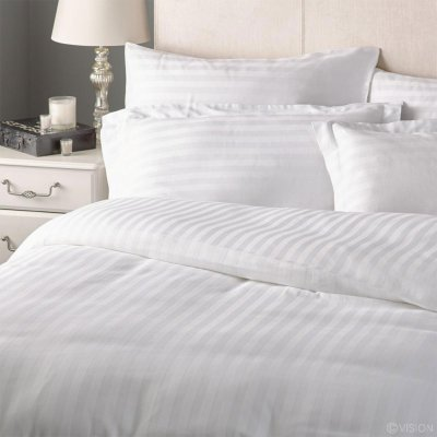 Σεντόνι Satin Striped (240x270) 60% Βαμβάκι - 40% Polyester 220TC Lino Home