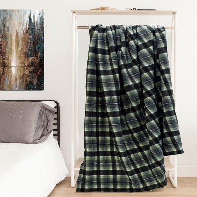 Κουβέρτα Fleece Υπέρδιπλη Mino Gray Lino Home
