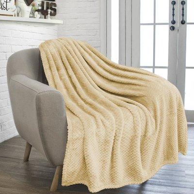Κουβέρτα Fleece Υπέρδιπλη Rolin Ecru Lino Home