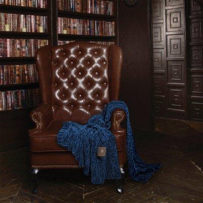 Κουβέρτα Πλεκτή Καναπέ Chenille 2424 Greenwich Polo Club
