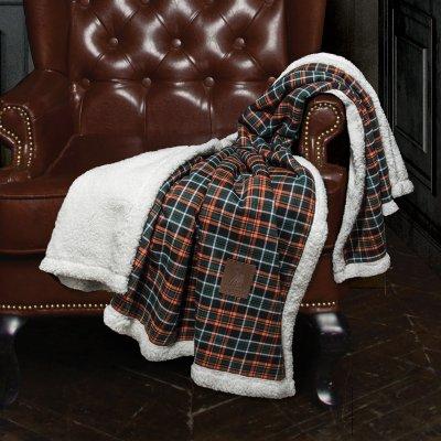Κουβέρτα Καναπέ Jacquard 2434 Greenwich Polo Club