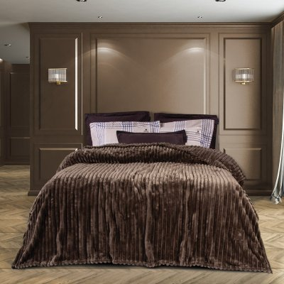 Κουβέρτα Fleece Υπέρδιπλη 2442 Greenwich Polo Club